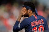 Kasus dugaan pemerkosaan Neymar di Paris dihentikan