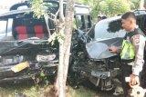 10 orang dilarikan ke RS akibat tabrakan beruntun di lintasan Banda Aceh-Medan
