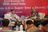Jusuf Kalla: efisiensi industri solusi tingkatkan produksi dalam negeri