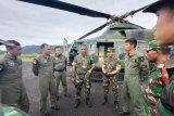 Pencarian helikopter MI 17 di hari ke-12 terhambat cuaca buruk