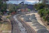 Jalur kereta Bukit Asam bakal lintasi Tol Kayuagung-Palembang