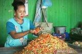 Harga cabai rawit di Sampit melonjak tajam