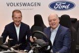 Dua raksasa Ford-Volkswagen perluas kolaborasi dengan  mobil listrik dan swakemudi