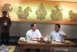Satay features in lunch menu of Jokowi and Prabowo