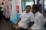 Di penghujung tahun, Prabowo unggah sketsa pertemuannya dengan Jokowi