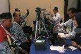 Jamaah calon haji Bangka Belitung tes biometrik
