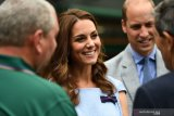 Pangeran Williams dan Kate Middleton saksikan final tunggal putra Wimbledon