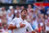 Novac Djokovic pertahankan gelar  terlama dalam sejarah Wimbledon