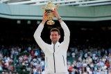 Ulasan pendek Djokovic lawan Federer di Wimbledon