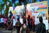 Buruh sawit demo tuntut keadilan