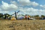 KNKT: tangki bahan bakar helikopter jatuh di Lombok diketahui kosong