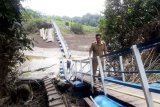 Pemkab Barito Utara bangun jembatan gantung konstruksi baja