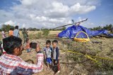 Tim KNKT investigasi bangkai helikopter yang jatuh
