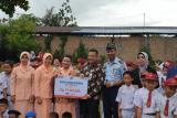 BNI bantu sarana pendidikan SD Angkasa Lanud Sutan Sjahrir Padang