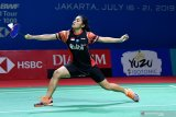 Indonesia kehabisan wakil tunggal putri usai Gregoria dikalahkan Ratchanok