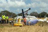 KNKT menuntaskan pengambilan data lapangan helikopter jatuh di Lombok