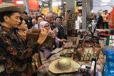 Produk berbahan rotan karya UMKM Kalteng disukai Presiden Jokowi