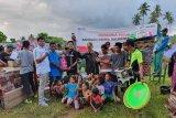 Pertamina Papua-Maluku salurkan bantuan langsung ke lokasi pengungsian korban gempa