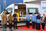 BNI serahkan satu unit ambulance VVIP ke RSUP M Djamil Padang