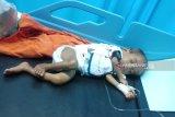 Buron, ayah penganiaya anak hingga paha patah akhirnya tangkap