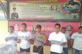 Rokok ilegal dari perbatasan Jambi-Riau disita