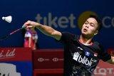 Ginting terhenti di babak dua setelah ditaklukkan pebulutangkis China