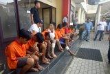 Polisi tangkap sembilan pelaku kejahatan jalanan bersenjata