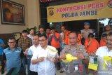 Polda Jambi menangkap anggota sindikat sabu Malaysia