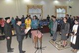 Wali Kota Palangka Raya mutasi sejumlah pejabat