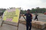 Jalan Tol Trans Sumatera  SP Lima Mesuji dalam proses pembersihan jalur tol