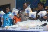 BNN akui penangkapan seorang tersangka dengan 38 Kg sabu terbesar di Kaltara