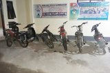 Polisi amankan  sepeda motor knalpot bising