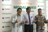 Tokopedia gandeng Modalku luncurkan  layanan pinjaman modal