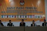 KPU gelar pleno penetapan jumlah kursi anggota DPRD terpilih
