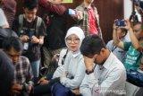 Anak dan istri  Jokdri menangis dengar hakim vonis 18 bulan penjara