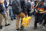 Tiga tas koper disita KPK dari kantor Dishub