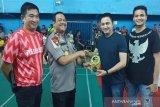 Sebanyak 146 pebulu tangkis bersaing di turnamen kapolda cup open 2019