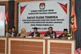 KPU Polewali Mandar tetapkan 45 caleg terpilih