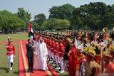 Putra Mahkota Abu Dhabi berkunjung ke Istana Kepresidenan Bogor