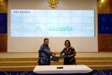 Taspen-Grab Indonesia kerja sama luncurkan 'Grab to Work TASPEN 2019'