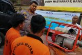 Polres Mataram menangkap penambang pasir ilegal