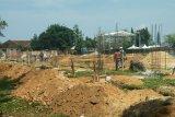 Pembangunan stadion mini di Bandarlampung sudah mencapai 10 Persen