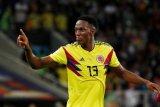 Pemain Everton Yerry Mina diperkarakan FA gara-gara judi