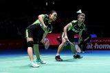 Rinov/Pitha melaju ke babak dua Kejuaraan Dunia