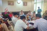 Wabup Inhil pimpin rapat persiapan kedatangan Gubernur Kalsel