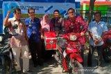 Korban bencana Sulteng dapat bantuan sepeda motor 'pagandeng' ikan (vidio)