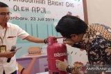 Pertamina targetkan 17.000 tabung bright gas terjual per bulan di Pekanbaru