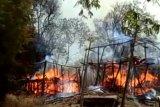 Jangan bakar lahan di pinggir perkampungan adat