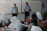 Imigrasi Palembang  sosialisasikan sekolah kedinasan kepada pelajar SMA