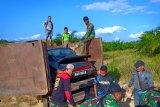 Satgas gagalkan penyelundupan mobil mewah asal Malaysia
